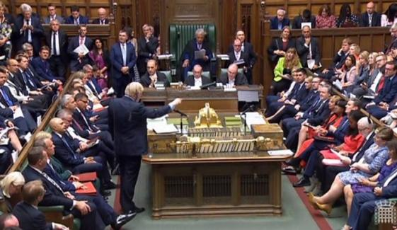 Uk Parliament Session Is On Saturday After 37 Years