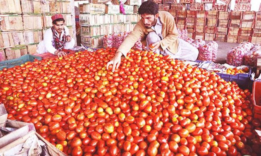 کراچی: سبزی فروشوں کا ٹماٹر پر ڈبل منافع، عوام پریشان