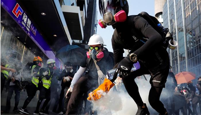 ہانگ کانگ میں حکومت مخالف احتجاجی مارچ