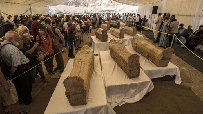 مصر میں فرعون کے دور کی حنوط شدہ لاشیں بر آمد