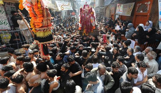 Chehlum Processions On Their Ways Countrywide