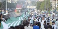 Islamabad Kashmir Million March 5 Km Long Kashmir Flag