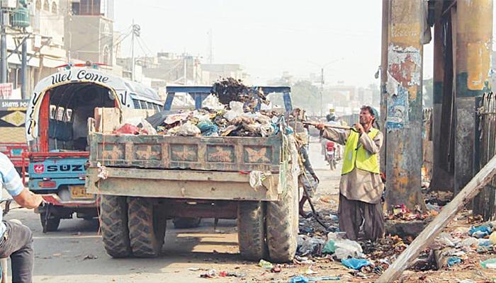 سندھ حکومت کی صفائی مہم کا آج آخری دن