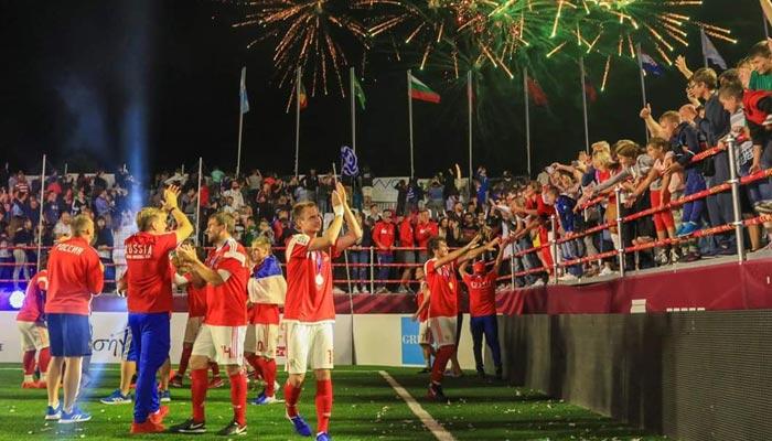 روس نے پولینڈ کو ہرا کر سوکا ورلڈ کپ جیت لیا
