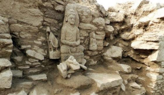 Archaeologists Claim Discovering Ancient Temple In Barikot Swat