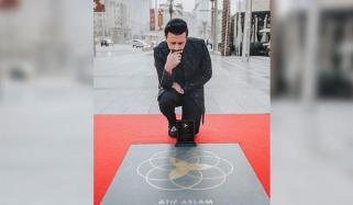 Dubai Star Honors Atif Aslam