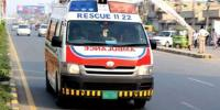 Ambulance Catched Fire After Accident In Mianwali