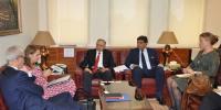 Netherlands Delegation Meets With Pm Imran Khan Trade Advisor