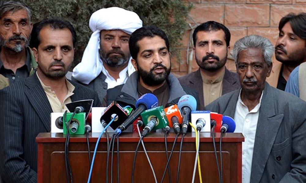 بلوچستان حکومت کا آزادی مارچ کو روکنے کا فیصلہ