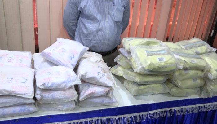 جیوانی: پاک بحریہ اور دیگر کا مشترکہ آپریشن، منشیات برآمد