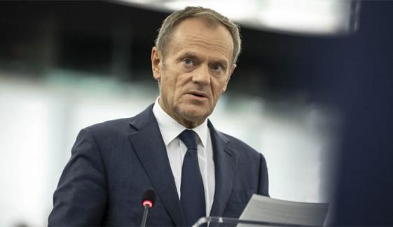 Donald Tusk Presented His Last Report In Eu Parliament