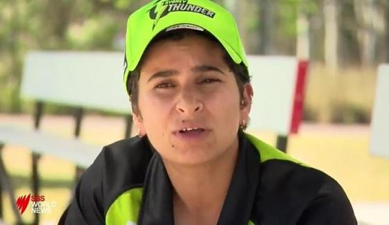 Nida Dar Famous As Lady Boom Boom In Big Bash
