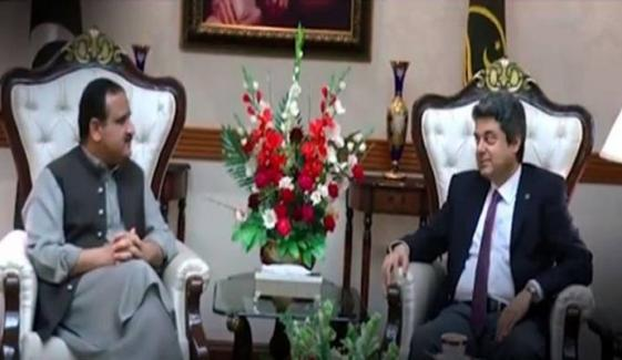 Federal Minister Of Law Farogh Naseem Meets With Cm Punjab Usman Buzdar