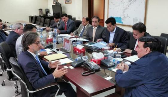 Portugal Investors Meets With Railway Minister Sheikh Rasheed