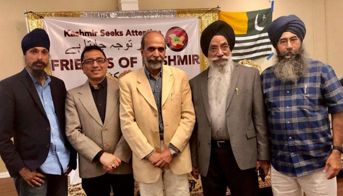 مسلمان اور سکھ کمیونٹی بھارتی مصنوعات کا بائیکاٹ کرے، علاؤالدین خانزادہ