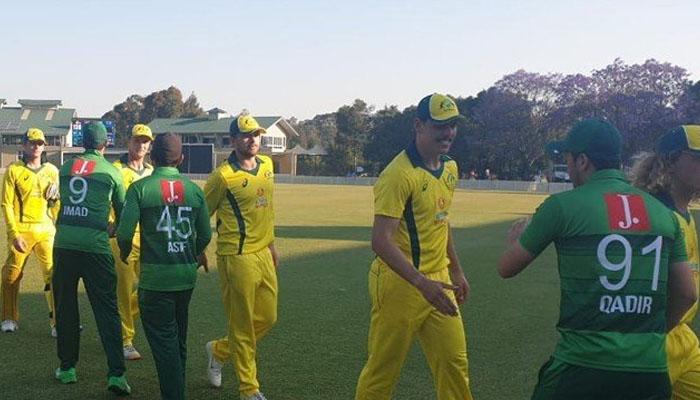 پاکستان نے  آسٹریلیا الیون کو6وکٹ سے ہرادیا