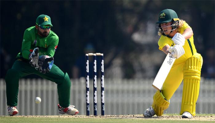 پاکستان  نے کرکٹ آسٹریلیا الیون کو6وکٹ سے ہرادیا