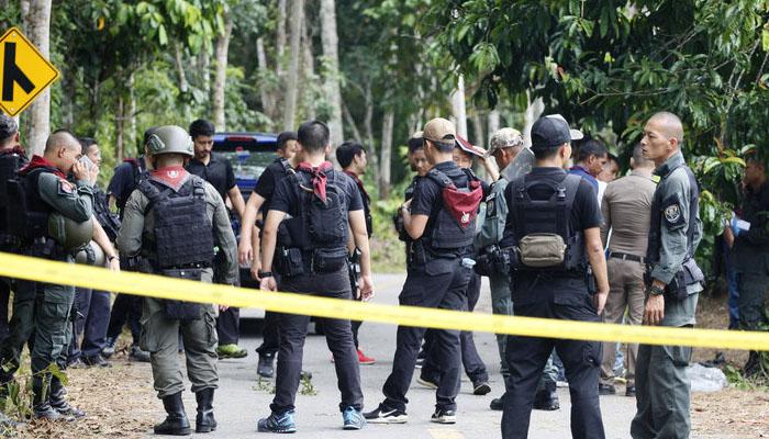 تھائی لینڈ : مسلح افراد کی فائرنگ، 15 سیکورٹی اہلکار ہلاک