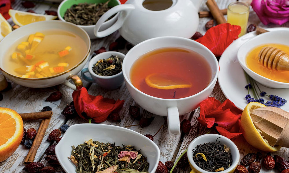 پھیپڑوں کو' اسموگ' کے اثر سے بچانے والی چائے