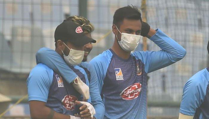 دلی میں فضائی آلودگی سے دو بنگلا دیشی کرکٹرز کی حالت غیر