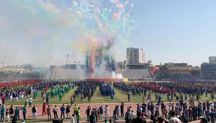 پشاور میں 33 ویں نیشنل گیمز کا شاندار آغاز