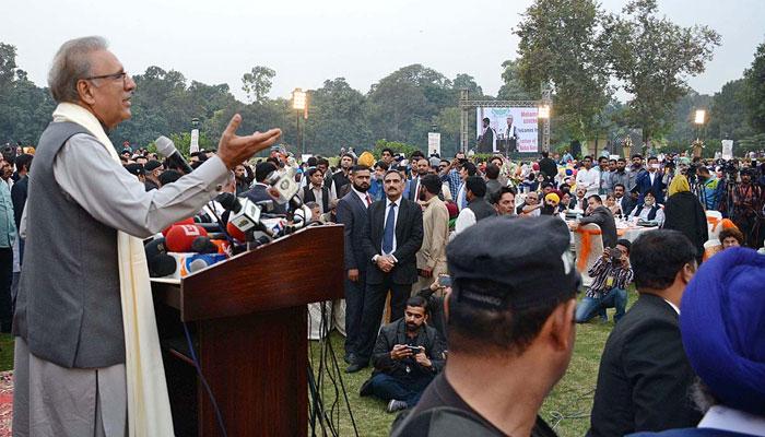 امید ہے بھارت بھی اقلیتوں کا خیال رکھے گا، صدر مملکت