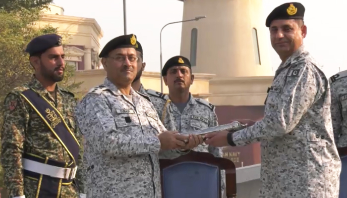 ریئر ایڈمرل زبیر شفیق کمانڈر سینٹرل پنجاب تعینات