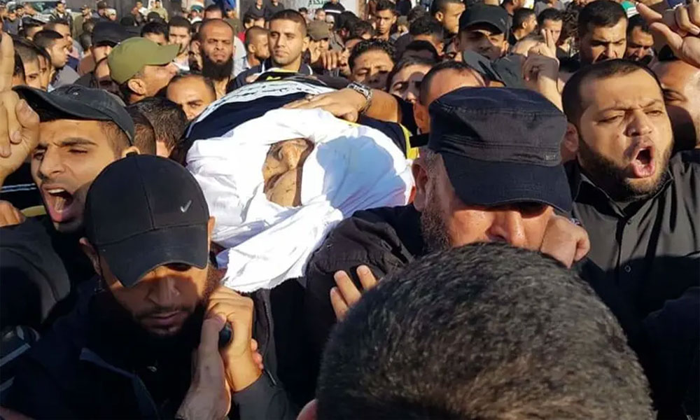 غزہ: اسرائیلی حملہ، فلسطینی کمانڈر اور اہلیہ شہید