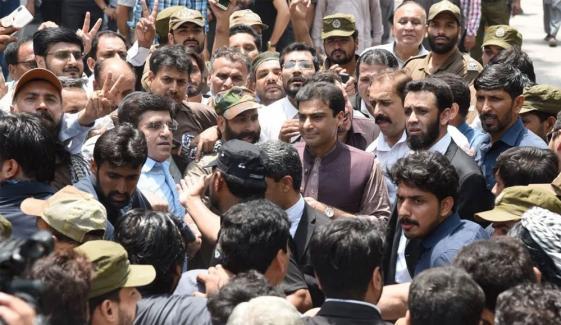 Accountability Court Extends Judicial Remand Of Hamza Shahbaz Till November 28