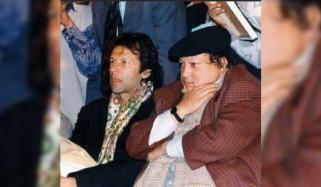 Nusrat Fateh Ali Khan Singing Imran Khans Favourite Qawali On His Request
