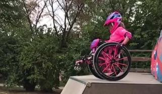 6 Year Old Girl In Wheelchair Is Wcmx Rising Star Germany