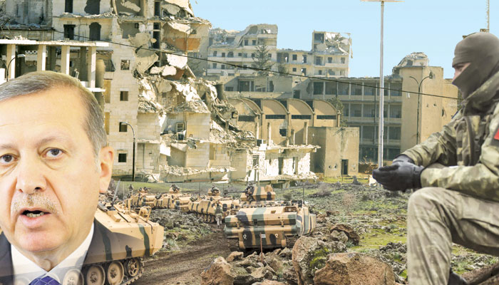 شام میں ترکی کی طویل المدت جنگ کی تیاری