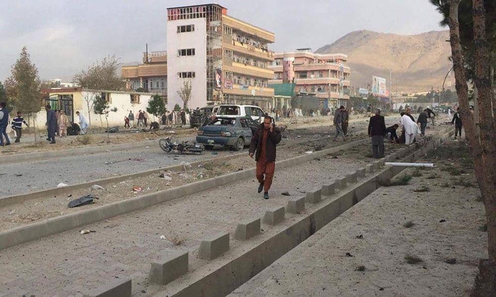 افغانستان: کابل میں کار بم دھماکا، 7 افراد ہلاک