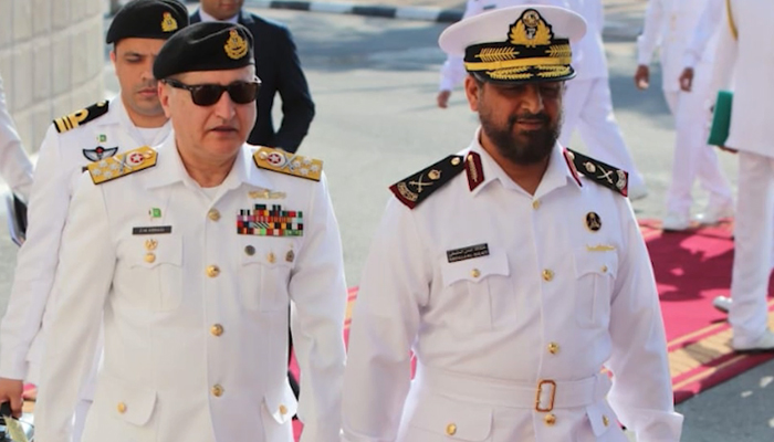 نیول چیف کا قطر کا سرکاری دورہ