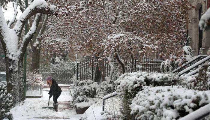 امریکا میں خون جما دینے والی سردی