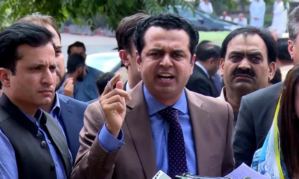 'فواد چوہدری پہلے اپنا سیکیورٹی بانڈ دیں'، طلال چوہدری