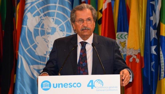 پاکستان کشمیریوں کے حقوق کی بحالی کیلئےیونیسکو کے کردار کا خواہاں ہے، شفقت محمود