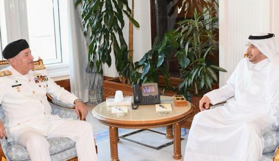 Naval Chief Visit Qatar