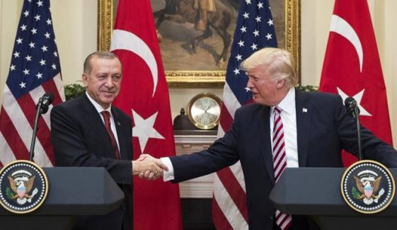 Turk President Meet Us President Today