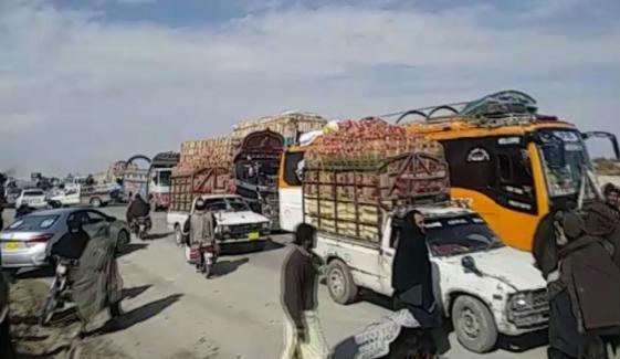 Jui F Blocks Quetta Chaman Highway As Part Of Plan B