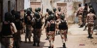 Rangers Operation In Different Areas Of Karachi 20 Criminals Arrested