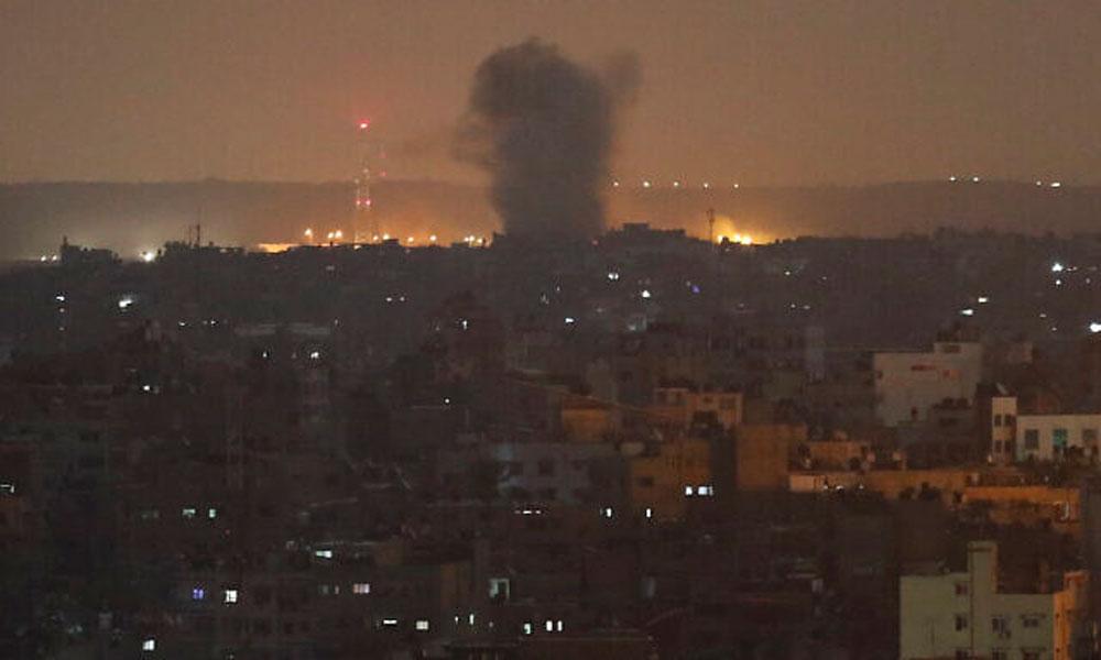 غزہ پر اسرائیلی فضائی حملہ، ایک ہی خاندان کے 6 افراد شہید