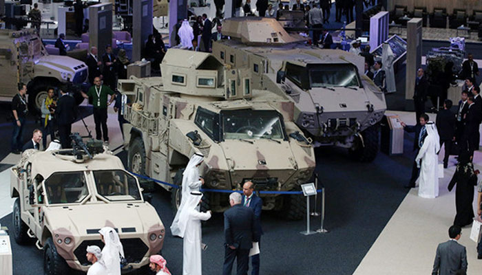 بحرین میں سامان حرب کی نمائش