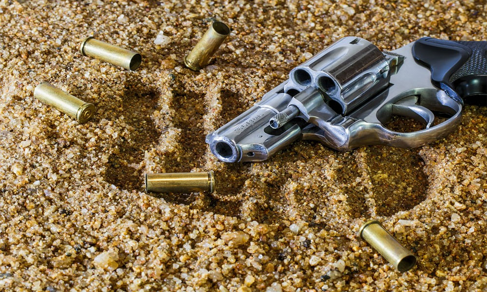 کراچی، قائد آباد میں ڈاکو اپنی ہی گولی سے ہلاک