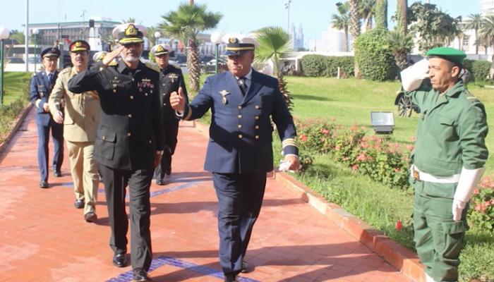 پاک بحریہ کےدو جہازوں کا مراکش کی بندرگاہ کا دورہ