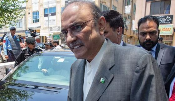 Zardari Is Still Suffering From Back Pain