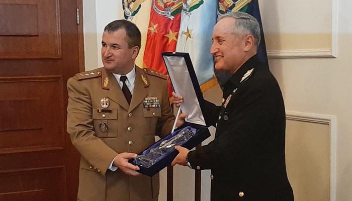 سربراہ پاک بحریہ کا رومانیہ کا سرکاری دورہ