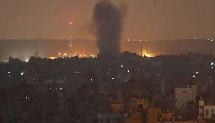 اسرائیل کا ایک بار پھرغزہ پر فضائی حملہ