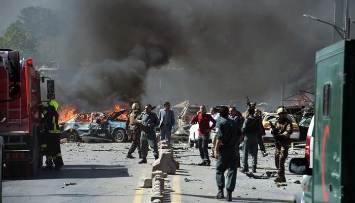 کابل میں ملٹری ٹریننگ سینٹر کے قریب خودکش دھماکا