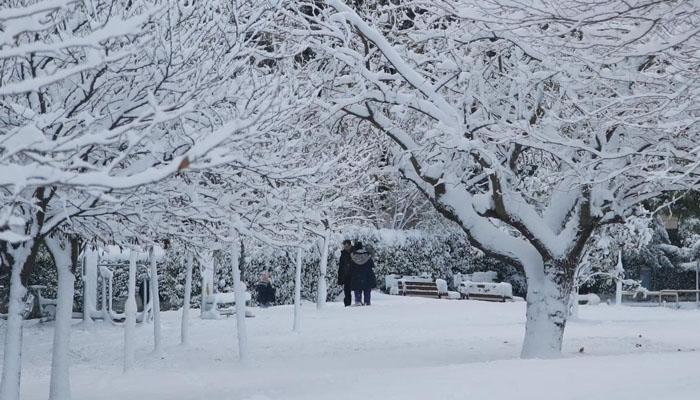 اسپین، شدید برف باری سے نظام زندگی درہم برہم